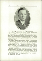 Page 12, 1928 Edition, Mason High School - Anchora Yearbook (Mason, MI) online yearbook collection