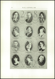 Page 14, 1928 Edition, Mason High School - Anchora Yearbook (Mason, MI) online yearbook collection