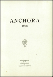 Page 5, 1928 Edition, Mason High School - Anchora Yearbook (Mason, MI) online yearbook collection