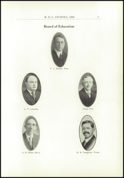 Page 9, 1928 Edition, Mason High School - Anchora Yearbook (Mason, MI) online yearbook collection