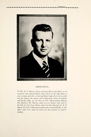 Page 13, 1937 Edition, Mason High School - Anchora Yearbook (Mason, MI) online yearbook collection
