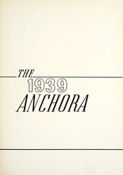 Page 7, 1939 Edition, Mason High School - Anchora Yearbook (Mason, MI) online yearbook collection