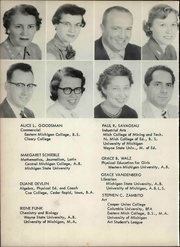 Page 14, 1958 Edition, Willow Run High School - Phaetonian Yearbook (Ypsilanti, MI) online yearbook collection