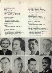 Page 15, 1958 Edition, Willow Run High School - Phaetonian Yearbook (Ypsilanti, MI) online yearbook collection