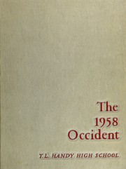1958 Edition, Handy High School - Occident Yearbook (Bay City, MI)