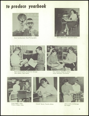 Page 13, 1960 Edition, Handy High School - Occident Yearbook (Bay City, MI) online yearbook collection