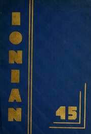 1945 Edition, Ionia High School - Ionian Yearbook (Ionia, MI)