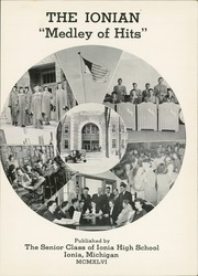 Page 5, 1946 Edition, Ionia High School - Ionian Yearbook (Ionia, MI) online yearbook collection