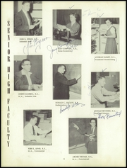 Page 8, 1956 Edition, Beecher High School - Clipper Yearbook (Flint, MI) online yearbook collection