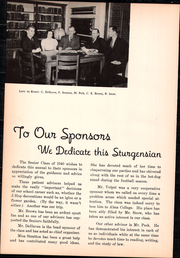 Page 6, 1940 Edition, Sturgis High School - Sturgensian Yearbook (Sturgis, MI) online yearbook collection