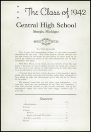 Page 6, 1942 Edition, Sturgis High School - Sturgensian Yearbook (Sturgis, MI) online yearbook collection