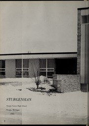 Page 6, 1963 Edition, Sturgis High School - Sturgensian Yearbook (Sturgis, MI) online yearbook collection