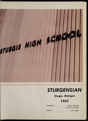 Page 5, 1965 Edition, Sturgis High School - Sturgensian Yearbook (Sturgis, MI) online yearbook collection
