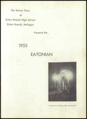Page 5, 1955 Edition, Eaton Rapids High School - Eatonian Yearbook (Eaton Rapids, MI) online yearbook collection