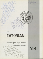 Page 5, 1964 Edition, Eaton Rapids High School - Eatonian Yearbook (Eaton Rapids, MI) online yearbook collection