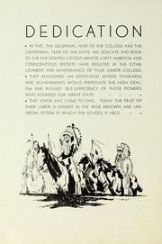 Page 10, 1936 Edition, Tyler Junior College - Apache Yearbook (Tyler, TX) online yearbook collection
