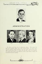 Page 13, 1936 Edition, Tyler Junior College - Apache Yearbook (Tyler, TX) online yearbook collection