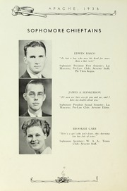 Page 16, 1936 Edition, Tyler Junior College - Apache Yearbook (Tyler, TX) online yearbook collection