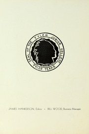 Page 6, 1936 Edition, Tyler Junior College - Apache Yearbook (Tyler, TX) online yearbook collection