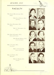 Page 11, 1937 Edition, Tyler Junior College - Apache Yearbook (Tyler, TX) online yearbook collection