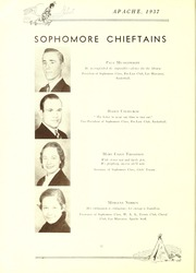 Page 14, 1937 Edition, Tyler Junior College - Apache Yearbook (Tyler, TX) online yearbook collection