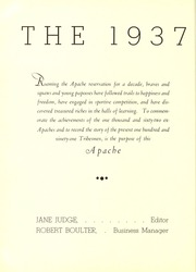 Page 4, 1937 Edition, Tyler Junior College - Apache Yearbook (Tyler, TX) online yearbook collection