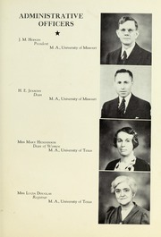 Page 11, 1941 Edition, Tyler Junior College - Apache Yearbook (Tyler, TX) online yearbook collection