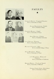 Page 12, 1941 Edition, Tyler Junior College - Apache Yearbook (Tyler, TX) online yearbook collection