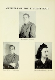 Page 14, 1941 Edition, Tyler Junior College - Apache Yearbook (Tyler, TX) online yearbook collection