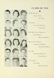 Page 16, 1941 Edition, Tyler Junior College - Apache Yearbook (Tyler, TX) online yearbook collection