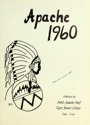 Page 5, 1960 Edition, Tyler Junior College - Apache Yearbook (Tyler, TX) online yearbook collection