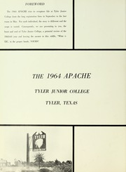 Page 6, 1964 Edition, Tyler Junior College - Apache Yearbook (Tyler, TX) online yearbook collection