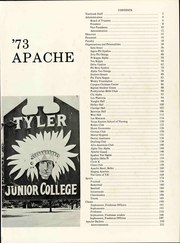 Page 5, 1973 Edition, Tyler Junior College - Apache Yearbook (Tyler, TX) online yearbook collection