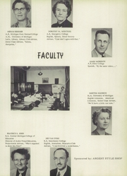 Page 13, 1952 Edition, Alma High School - Panther Tales Yearbook (Alma, MI) online yearbook collection