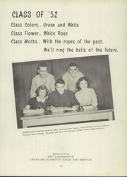 Page 15, 1952 Edition, Alma High School - Panther Tales Yearbook (Alma, MI) online yearbook collection