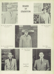Page 9, 1952 Edition, Alma High School - Panther Tales Yearbook (Alma, MI) online yearbook collection