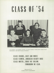 Page 16, 1954 Edition, Alma High School - Panther Tales Yearbook (Alma, MI) online yearbook collection