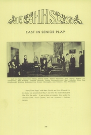 Hamtramck High School - Cosmos Yearbook (Hamtramck, MI) online yearbook collection, 1935 Edition, Page 15