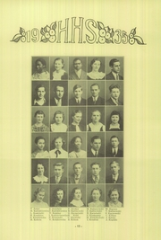 Hamtramck High School - Cosmos Yearbook (Hamtramck, MI) online yearbook collection, 1935 Edition, Page 56