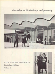 Page 6, 1965 Edition, Wylie E Groves High School - Talon Yearbook (Beverly Hills, MI) online yearbook collection
