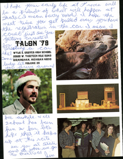 Page 6, 1979 Edition, Wylie E Groves High School - Talon Yearbook (Beverly Hills, MI) online yearbook collection