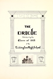 Page 11, 1915 Edition, Ludington High School - Oriole Yearbook (Ludington, MI) online yearbook collection