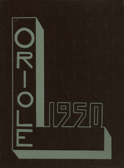 1950 Edition, Ludington High School - Oriole Yearbook (Ludington, MI)