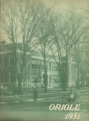 1951 Edition, Ludington High School - Oriole Yearbook (Ludington, MI)
