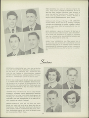 Page 14, 1951 Edition, Ludington High School - Oriole Yearbook (Ludington, MI) online yearbook collection