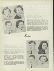 Page 16, 1951 Edition, Ludington High School - Oriole Yearbook (Ludington, MI) online yearbook collection