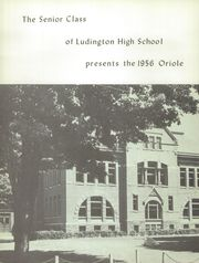 Page 6, 1956 Edition, Ludington High School - Oriole Yearbook (Ludington, MI) online yearbook collection