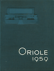 1959 Edition, Ludington High School - Oriole Yearbook (Ludington, MI)