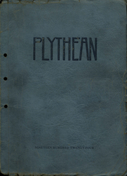 Page 1, 1924 Edition, Plymouth High School - Plythean Yearbook (Plymouth, MI) online yearbook collection