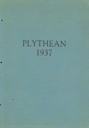 1937 Edition, Plymouth High School - Plythean Yearbook (Plymouth, MI)